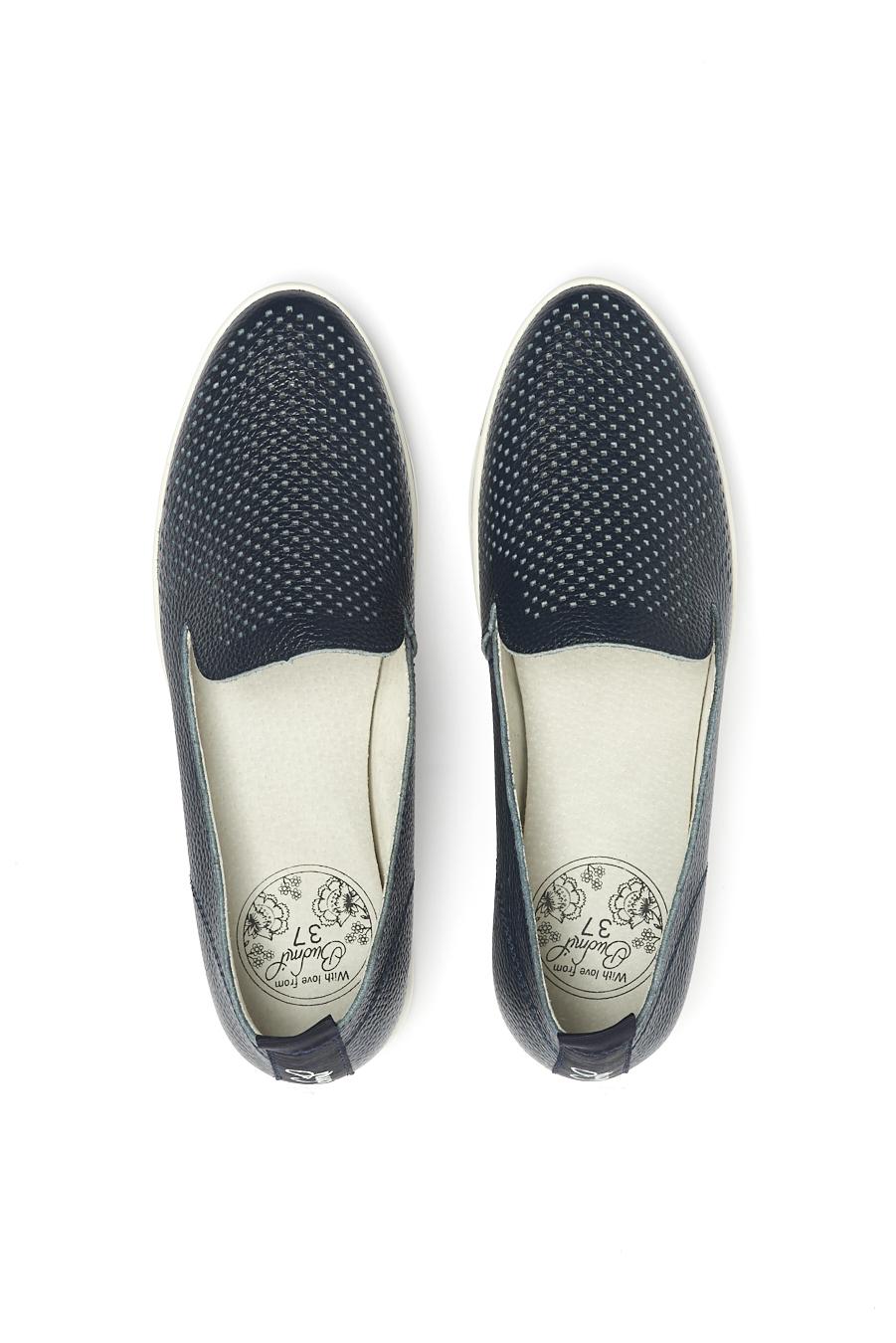 női bőrcipő s.kék | Női és Férfi utcai cipő webshop | budmil  női bőrcipő | budmil