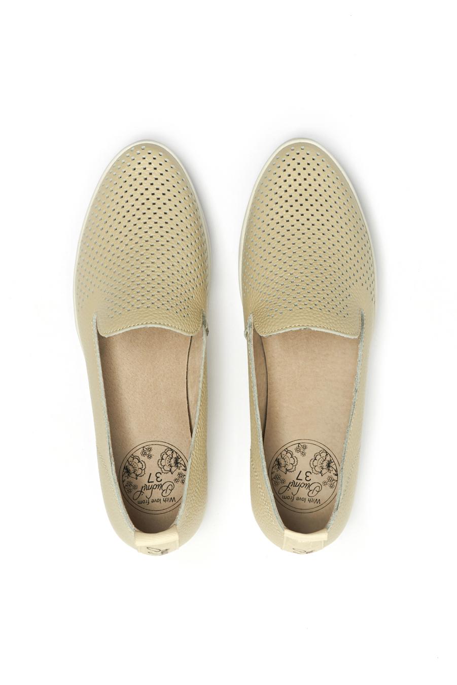 női bőrcipő bézs   Női és Férfi utcai cipő webshop   budmil  női bőrcipő   budmil