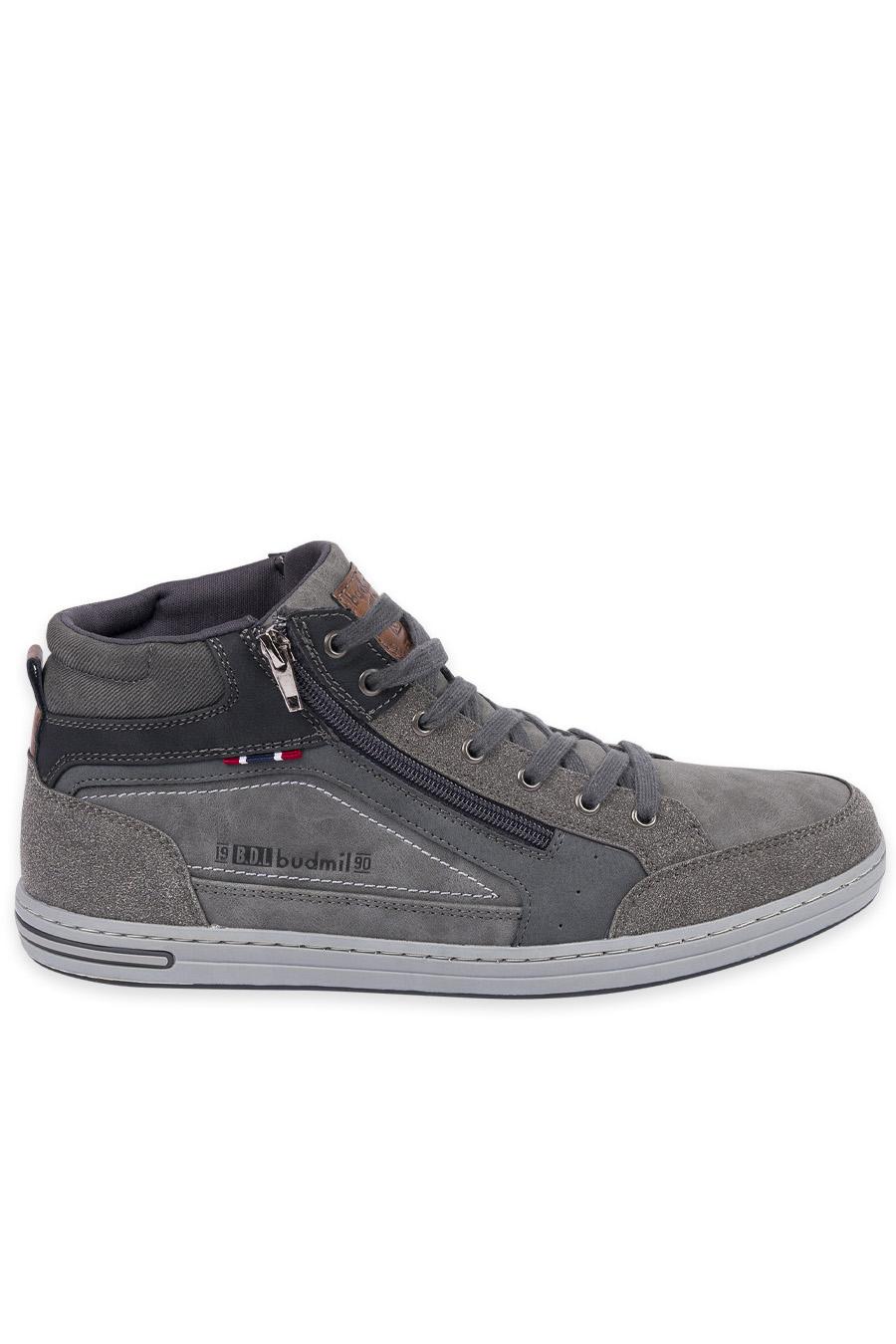 férfi utcai cipő szürke Kényelmes Férfi Cipők budmil férfi utcai cipő | budmil